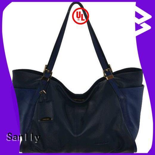 Sanlly leather italian handbags company for women