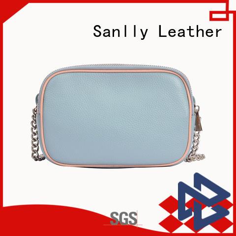 Sanlly bags leather shoulder bag women's OEM for modern women