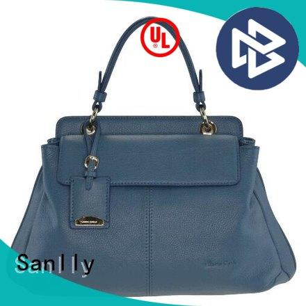 Sanlly tote ladies leather handbags winter suede for summer