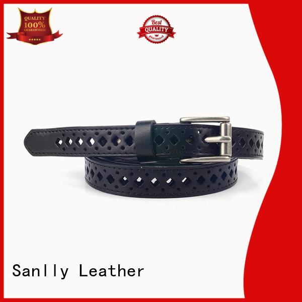Sanlly customized cream ladies belt manufacturers