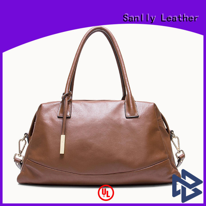 High-quality leather pouches for women nappa ODM