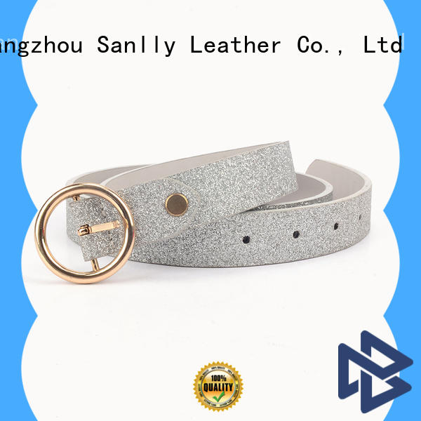Breathable womens belt with buckle woven get quote