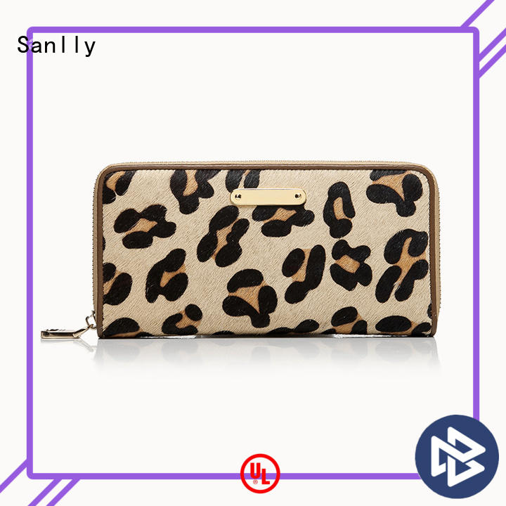 Sanlly womens womens fashion wallets bulk production for single shoulder