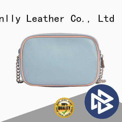 Sanlly high-quality soft leather shoulder bags for womens customization for girls