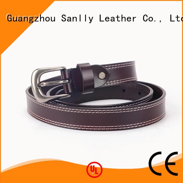 Sanlly cow latest belts for men for wholesale for men