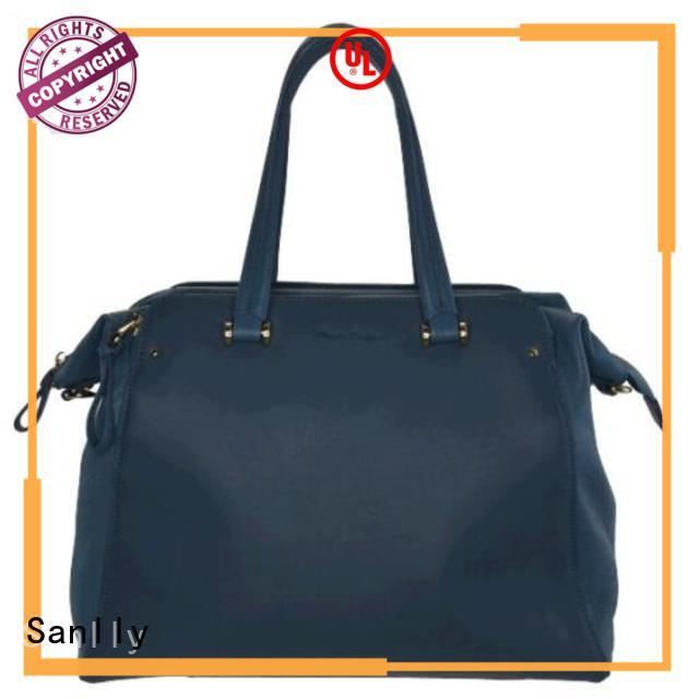 Sanlly leather ladies leather handbags stylish for fashion