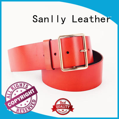 Sanlly modern unique mens leather belts for wholesale for men
