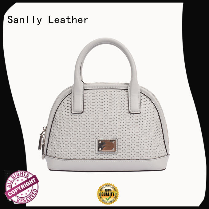 Sanlly quality blue leather handbags and purses Supply