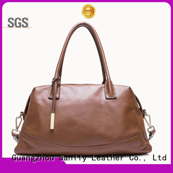 Sanlly eyelet women's designer handbags supplier for girls