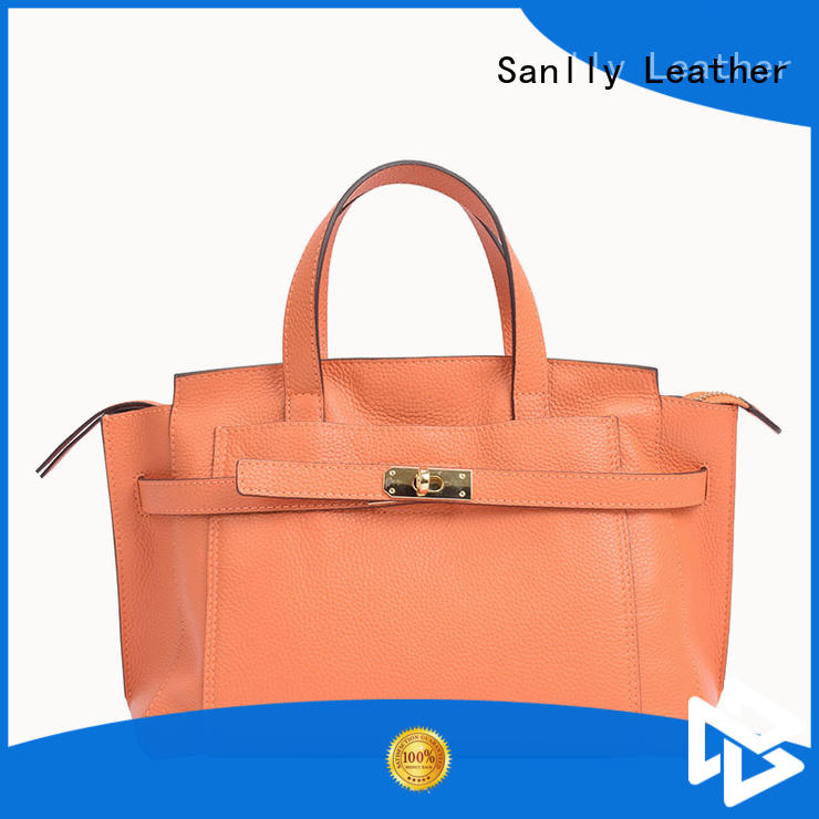 Sanlly work women's leather handbags OEM for modern women