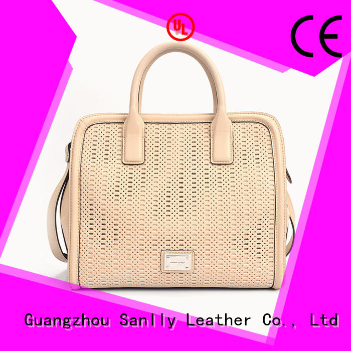 best women's leather handbags ladies Sanlly