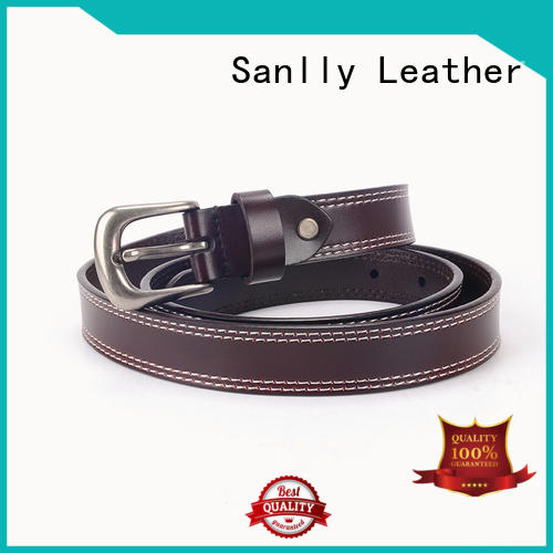 Sanlly durable mens luxury leather belts Suppliers for girls