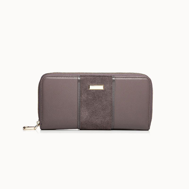 Leather Zip Wallet Ladies Long Zip women wallet online  women wallet on sale
