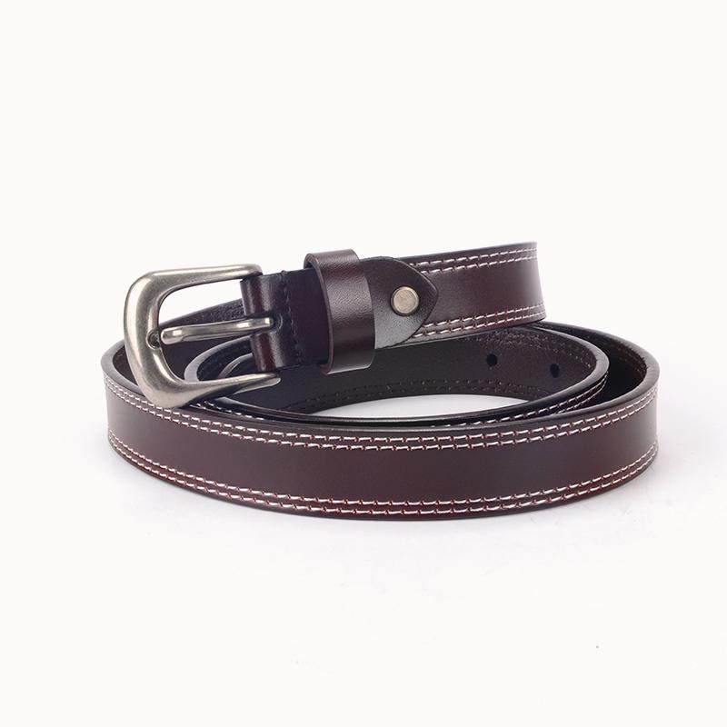 Top mens full leather belts vegtan free sample for girls-1