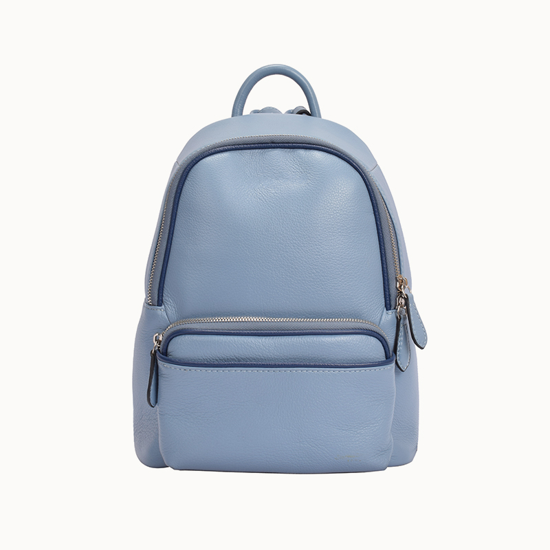 Sanlly real black leather womens backpack buy now for women-1