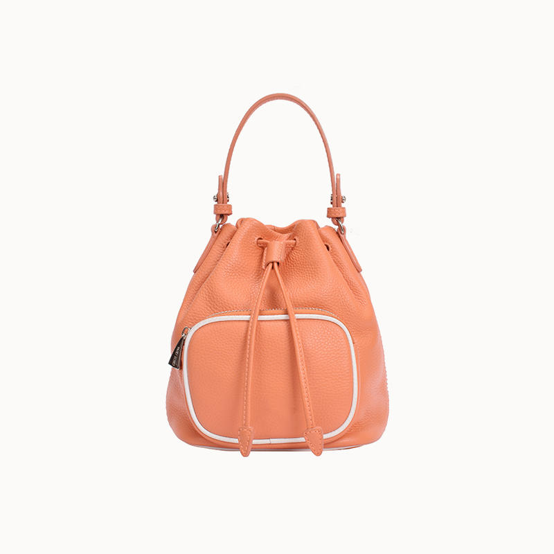 Mini Size Leather Drawstring For The Young Women