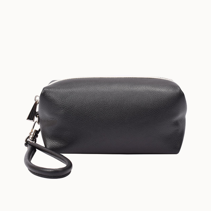 Calf Leather Wristlet Purse clutch bag for women