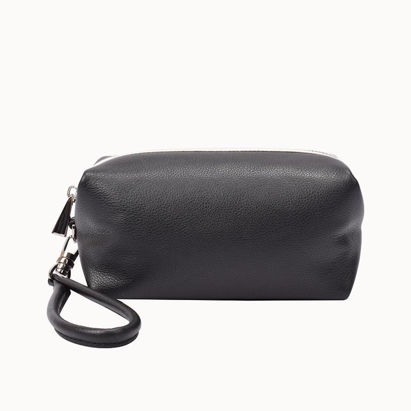 Calf Leather Wristlet Purse clutch bag for women