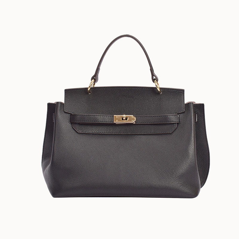 Handle Bag In Quality Leather