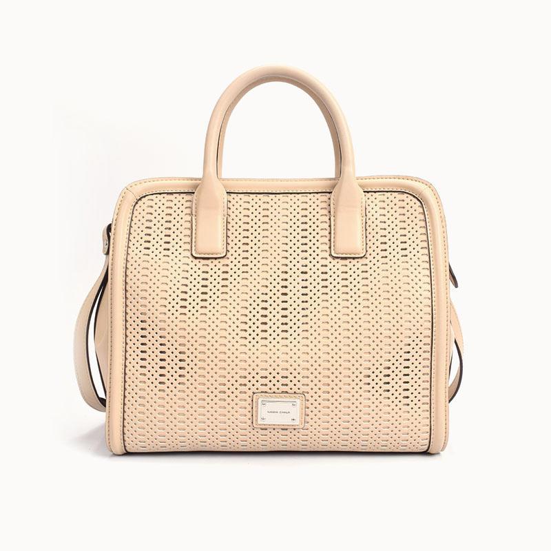 Women's Ladies Business Bag In Eyelet Work Design/ Satchel bag