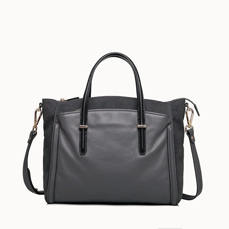 Large Leather Tote In Leather for ladies/ Shoulder handbag