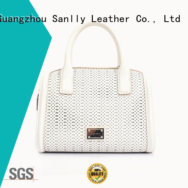 durable women's leather handbags haircalf ODM