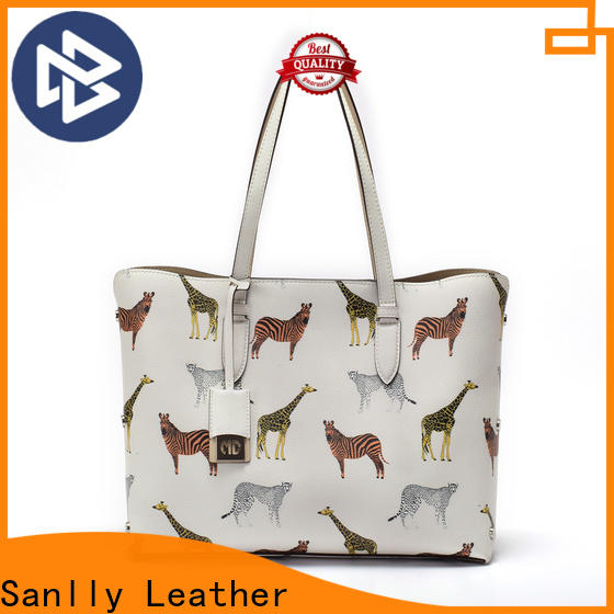Sanlly ladies soft leather handbags manufacturers for women