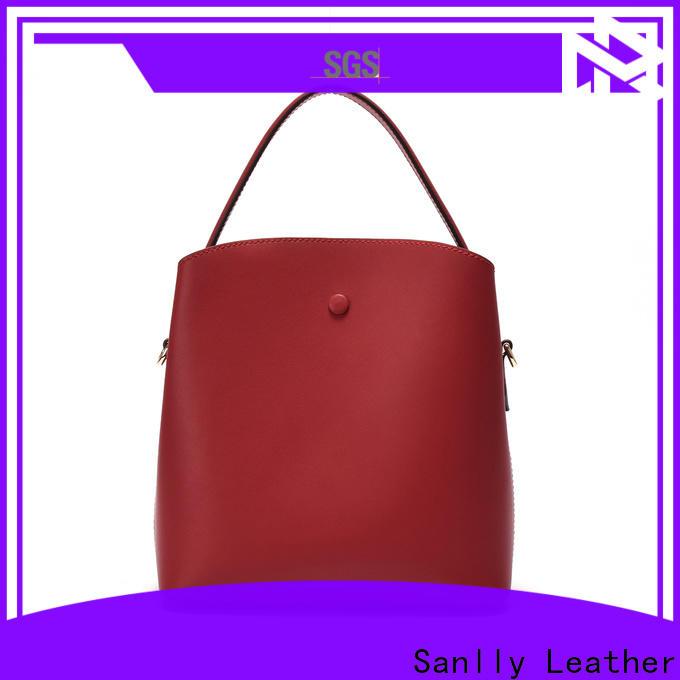 Sanlly shoulder brown suede shoulder bag for wholesale for shopping