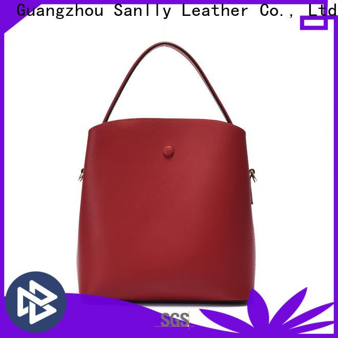 Sanlly large medium leather purse customization