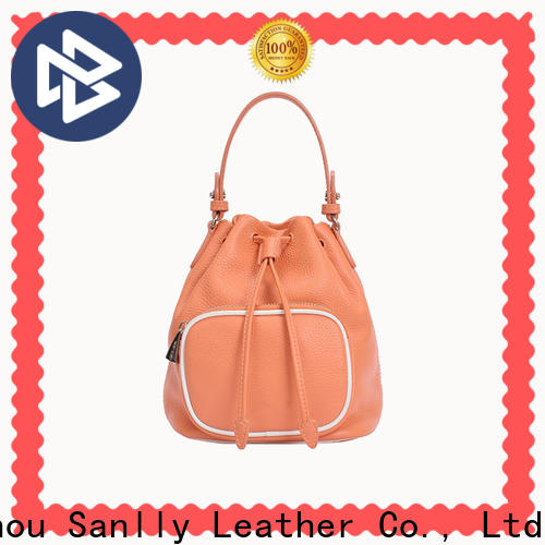 Sanlly Custom cool leather tote bags manufacturers for shopping