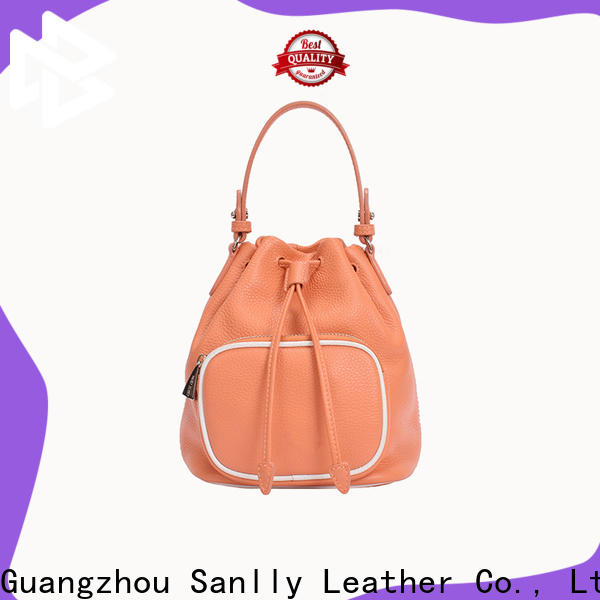 Sanlly portable ladies leather bags online for wholesale for girls