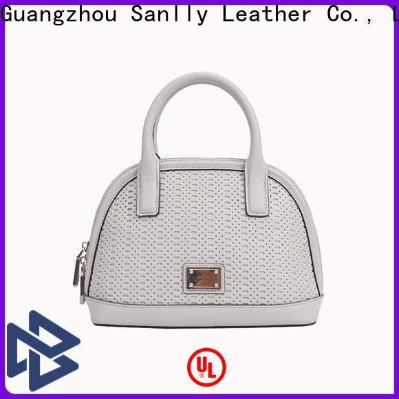 Sanlly Custom dark brown handbag for business for summer