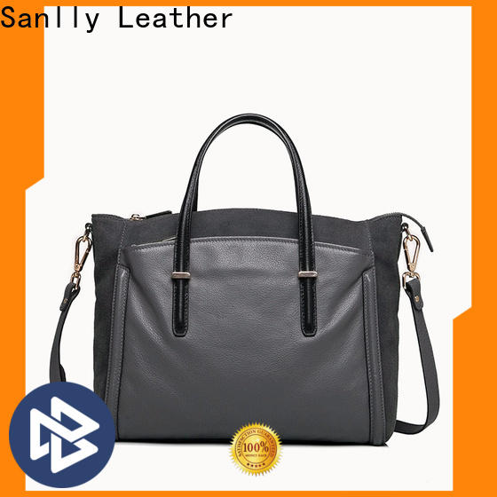 Sanlly grain extra large tote bags ODM for single shoulder