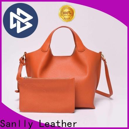 Sanlly Best distressed leather messenger bag Suppliers for girls