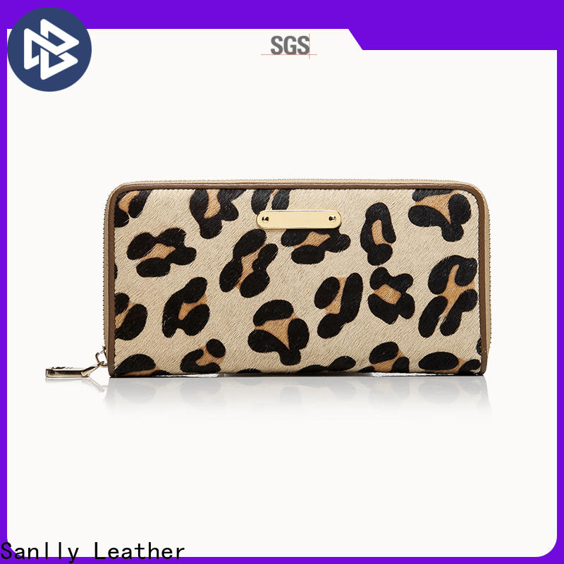 portable fancy wallets for ladies cow Suppliers for shopping
