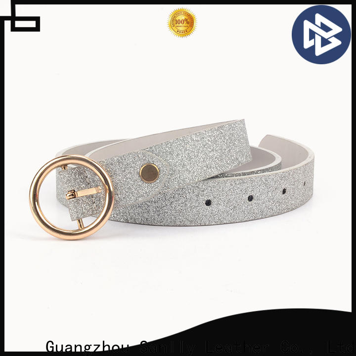 Sanlly shining ladies wide belts Supply
