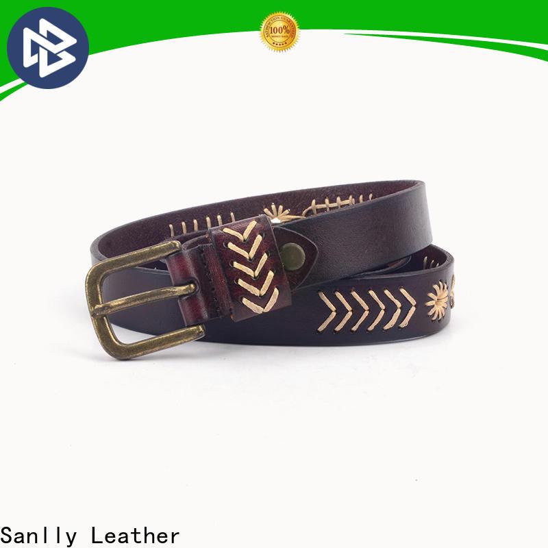 Sanlly portable mens belts for jeans manufacturers for men