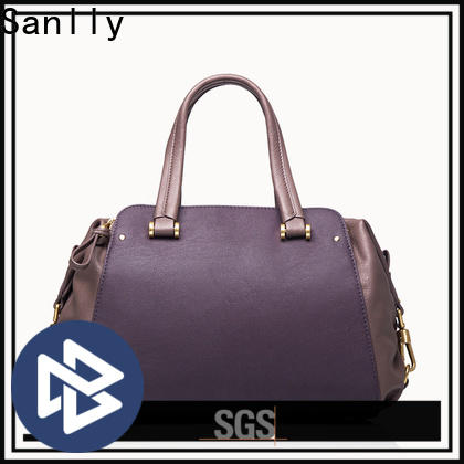 Sanlly leather leather satchel for women Suppliers for shopping