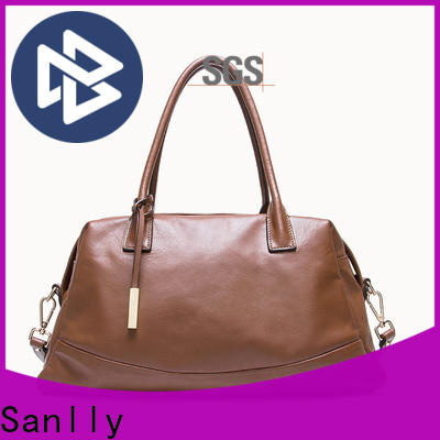 Sanlly Latest leather satchel company buy now for shopping