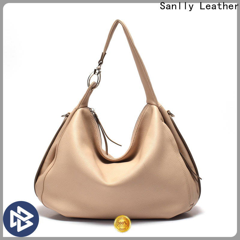 Sanlly leather small purse bag company for summer