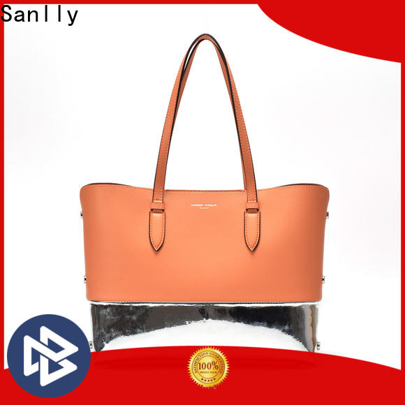 Sanlly leather bag hand Suppliers for summer