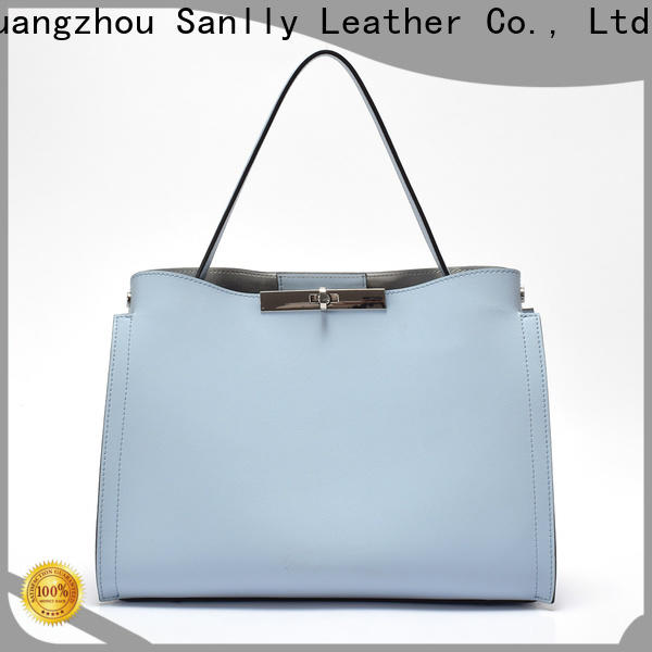 Sanlly bags big leather handbags Supply for girls