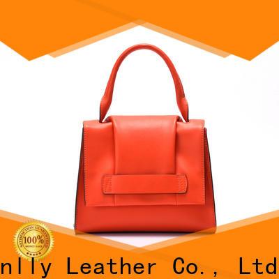 Sanlly bags best leather handbags bulk production for girls