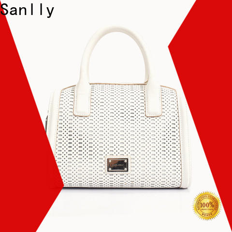 Sanlly leather side clutch bag factory for summer