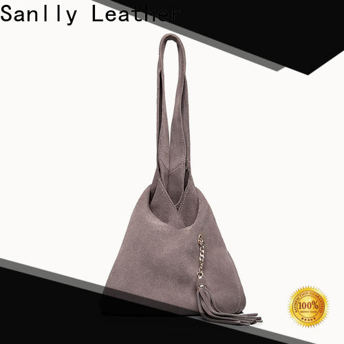 Sanlly fashion exclusive leather handbags supplier for women