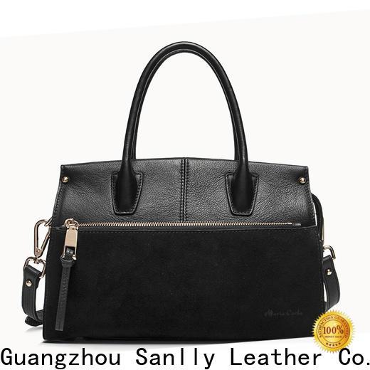 Custom large tan handbag tote stylish for fashion