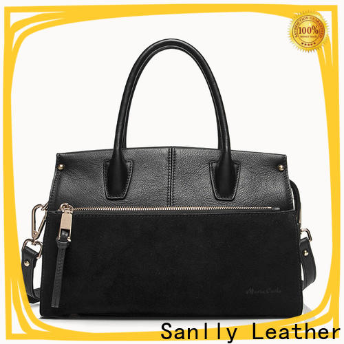 Sanlly leather leather satchel factory get quote for shopping