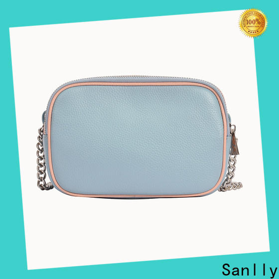 Sanlly Custom tote bag with long shoulder strap customization for women