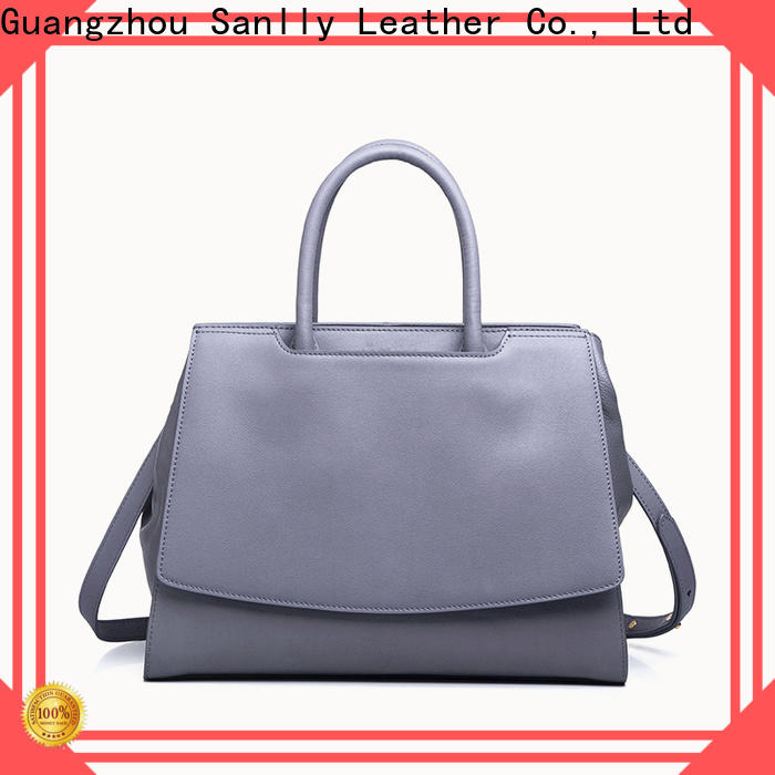 Sanlly portable leather shoulder handbags buy now for women