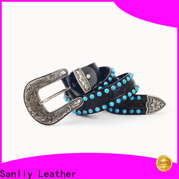Sanlly high-quality ladies fashion belts bulk production